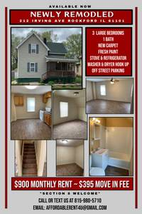 Section 8 For Rent Rockford